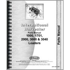 International Harvester 3000 Loader Attachment Parts Manual
