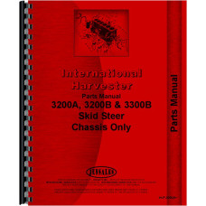 International Harvester 3200B Skid Steer Parts Manual (Chassis)
