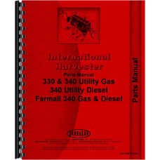 International Harvester 4410 Forklift Parts Manual (Chassis)