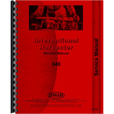 International Harvester 4410 Forklift Service Manual (Chassis)