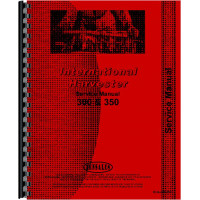 Farmall 350 Tractor Service Manual (all years, all sn#) (Chassis)