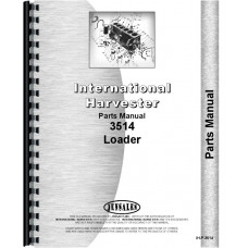 International Harvester 3514 Industrial Tractor Parts Manual (Chassis)