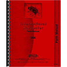 International Harvester 354 Tractor Parts Manual