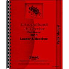International Harvester 3616 Loader Parts Manual