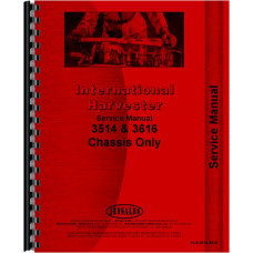 International Harvester 3514 Industrial Tractor Service Manual (Chassis)