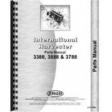 International Harvester 3788 Tractor Parts Manual