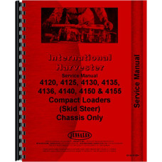 International Harvester 4155 Compact Skid Steer Loader Service Manual (Chassis)