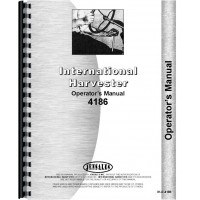 International Harvester 4186 Tractor Operators Manual