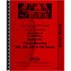 International Harvester 350 Tractor Behlen Power Steering Service Manual