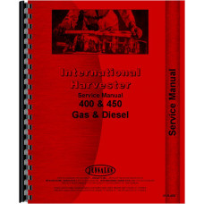 Farmall 400 Tractor Service Manual (1954-1956) (Gas and Diesel Only)