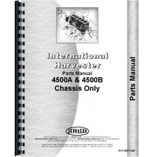 International Harvester 4500A Forklift Parts Manual (Chassis)