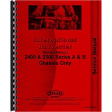 International Harvester 4500A Forklift Service Manual (Chassis)
