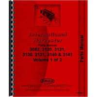 International Harvester 460 Tractor Backhoe Attachment Parts Manual