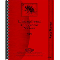 International Harvester 464 Tractor Parts Manual (Chassis)