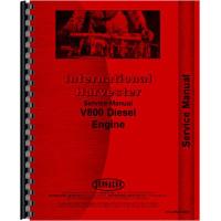 International Harvester 4568 Tractor Engine Service Manual (Engine)