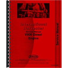 International Harvester 4586 Tractor Engine Service Manual (Engine)