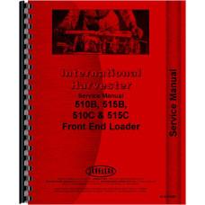International Harvester 515C Front End Loader Service Manual (Chassis)