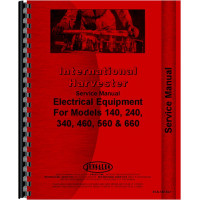 Farmall 460 Tractor Electrical Service Manual (Electrical)