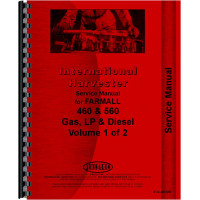 Farmall 460 Tractor Service Manual (1958-1963) (Utility, Row Crop, High Crop & Standard)