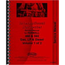 Farmall Tractor Service Manual (IH-S-460,560)