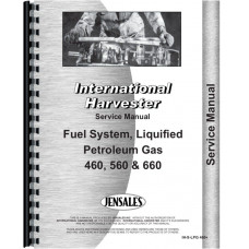 International Harvester 560 Tractor LP Gas Service Manual