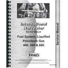 International Harvester 660 Tractor LP Gas Service Manual (Wheatland and LPG)