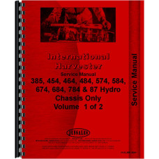 International Harvester 784 Tractor Service Manual (1977-1984) (Chassis)