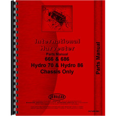 International Harvester 70 Hydro Tractor Parts Manual (Chassis)