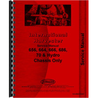 International Harvester 86 Hydro Tractor Service Manual (Chassis)