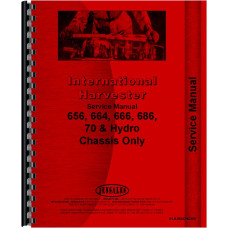 Farmall 656 Tractor Service Manual (Chassis Only)