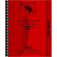 International Harvester 674 Tractor Parts Manual (Chassis)