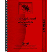 Farmall 706 Tractor Parts Manual (Gas, LP & Diesel Only)