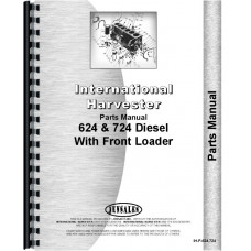 International Harvester 624 Tractor Parts Manual