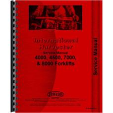 International Harvester 7000 Forklift Service Manual (Chassis)