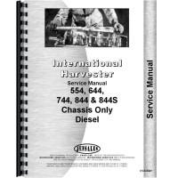 International Harvester 844 Tractor Service Manual