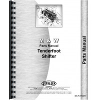 Farmall 1456 M and W Tender Foot Parts Manual