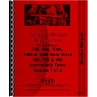 Farmall 966 Tractor Service Manual (1971-1976) (Chassis)