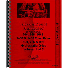 Farmall 1066 Tractor Service Manual (1971-1976) (Chassis)