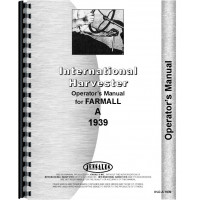 Farmall A Tractor Operators Manual (1939 only)