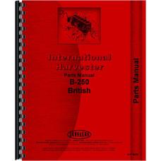 International Harvester B-250 Tractor Parts Manual