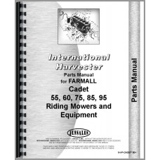 International Harvester Cub Cadet 60 Lawn & Garden Tractor Parts Manual