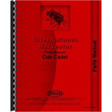 International Harvester Cub Cadet Lawn & Garden Tractor Parts Manual