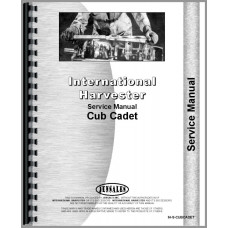 International Harvester Cub Cadet Lawn & Garden Tractor Service Manual (Chassis)