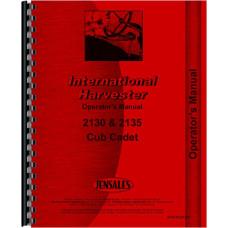 International Harvester Cub Cadet 2130 Lawn & Garden Tractor Operators Manual