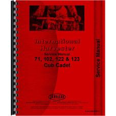 International Harvester Cub Cadet 122 Lawn & Garden Tractor Service Manual