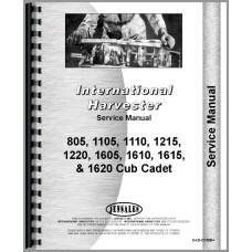 International Harvester Cub Cadet 1220 Lawn & Garden Tractor Service Manual