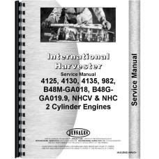 International Harvester 4135 Compact Skid Steer Loader Engine Service Manual
