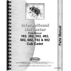 International Harvester Cub Cadet 382 Lawn & Garden Tractor Parts Manual