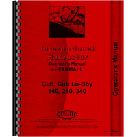 Farmall 140 Tractor Operators Manual (Preventive Maintenace)