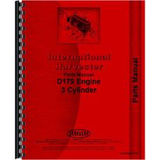 International Harvester 2412B Industrial Tractor Engine Parts Manual (Engine)